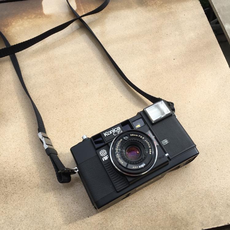 【熱賣】Konica/柯尼卡 C35 EF AF AF2中古高顏值135復古老式旁軸膠片相機