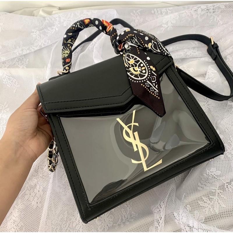 YSL紙袋包 精品紙袋 YSL紙袋改造 手作紙袋包