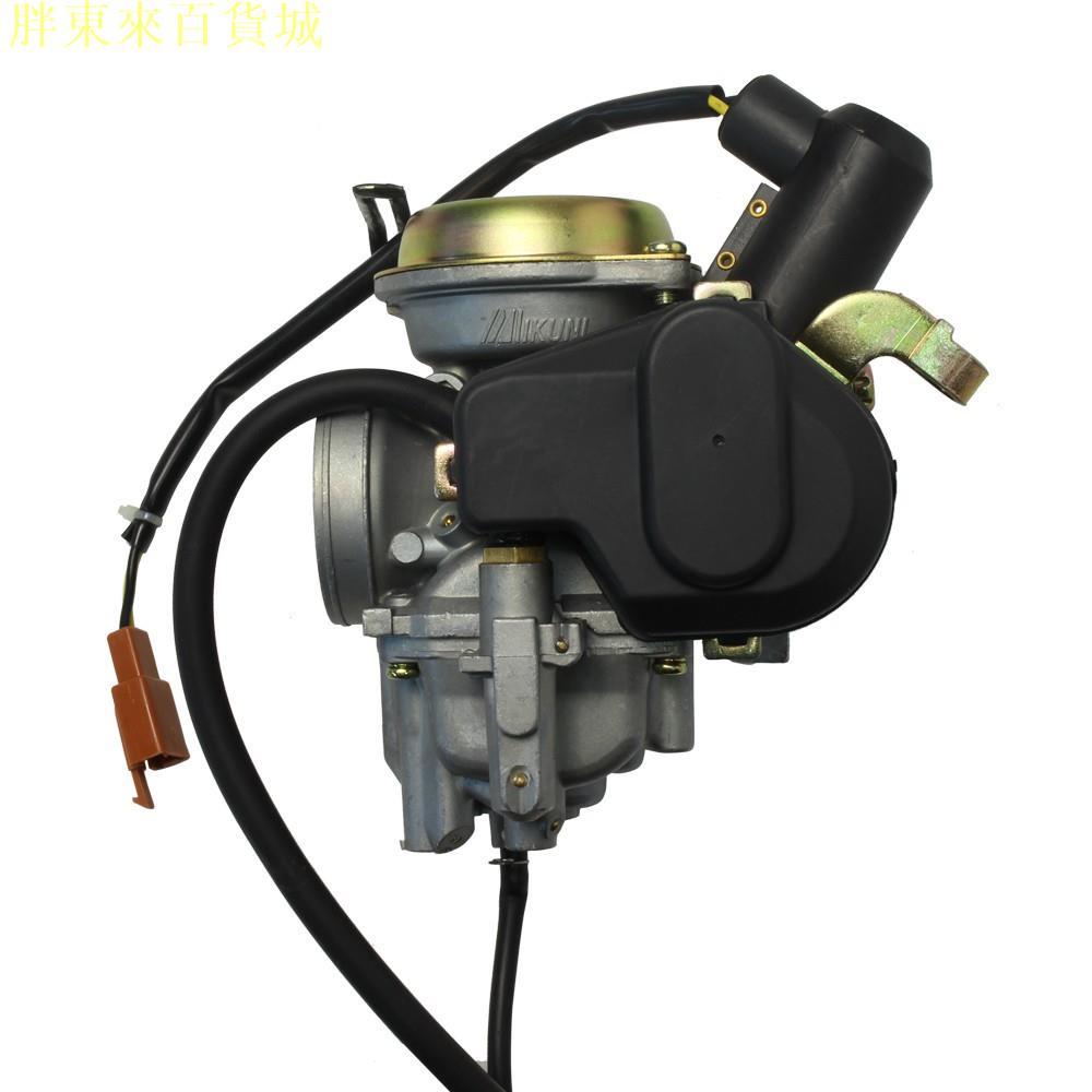 工廠 馬車125 Majesty125 迅光 風光(4TE)125 化油器 總成 YAMAHA三葉 MIKUNI配件(胖