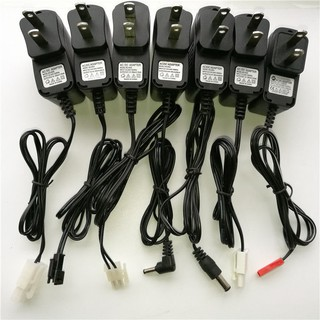 3.6V3.7V4.8V6V7.2V8.4V9.6V12V電池玩具飛機遙控車充電器充電線