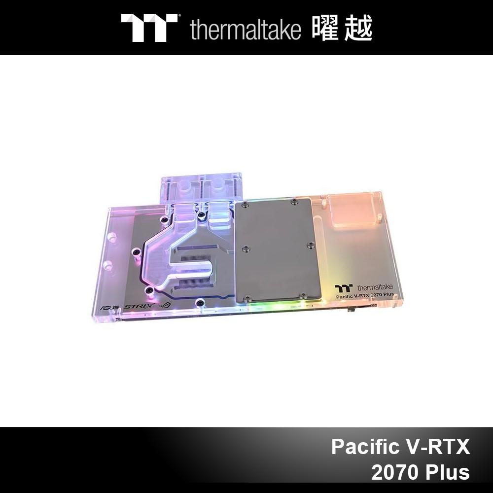 曜越 Pacific V-RTX 2070 Plus 顯示卡水冷頭 透明 (ASUS ROG)