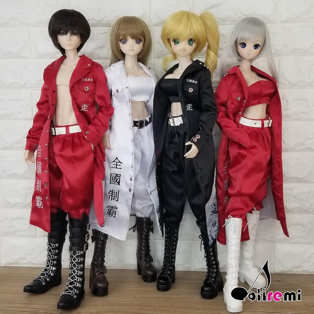Dollremi◆1/3 暴走族特攻服 DD Smart Doll ◇現貨 ◇◆MonJouJou代理