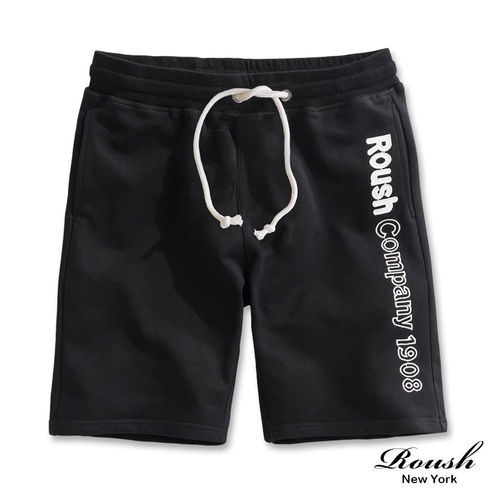 Roush - 美式立體貼布電繡短棉褲【2025377】