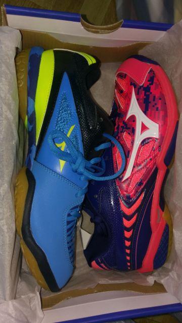 羽球鞋 Mizuno WAVE FANG ss2 27.5cm 正貨