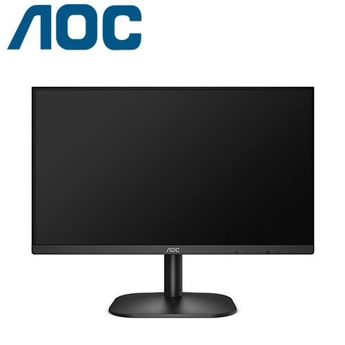 AOC 22B2H (VA/6.5ms/無喇叭/sRGB 96%/1A1H)低藍光.不閃屏