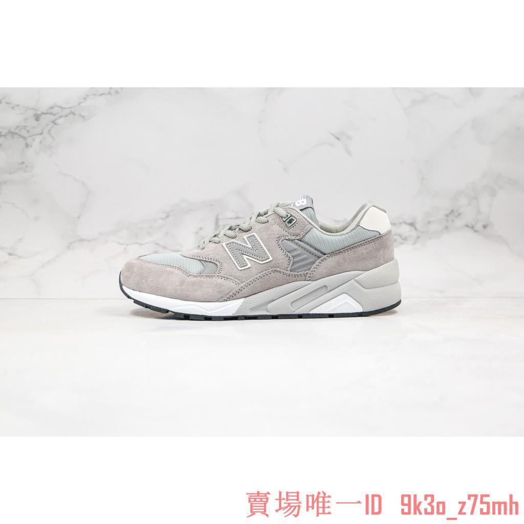 New Balance NB580 復古 麂皮 灰色 休閒運動慢跑鞋 男女款 MRT580DS