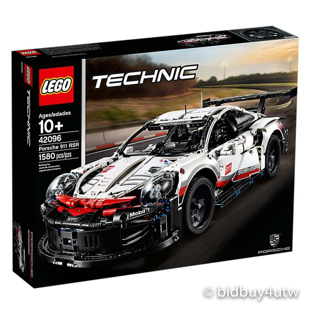 LEGO 42096 動力科技系列 Porsche 911 RSR【必買站】樂高盒組