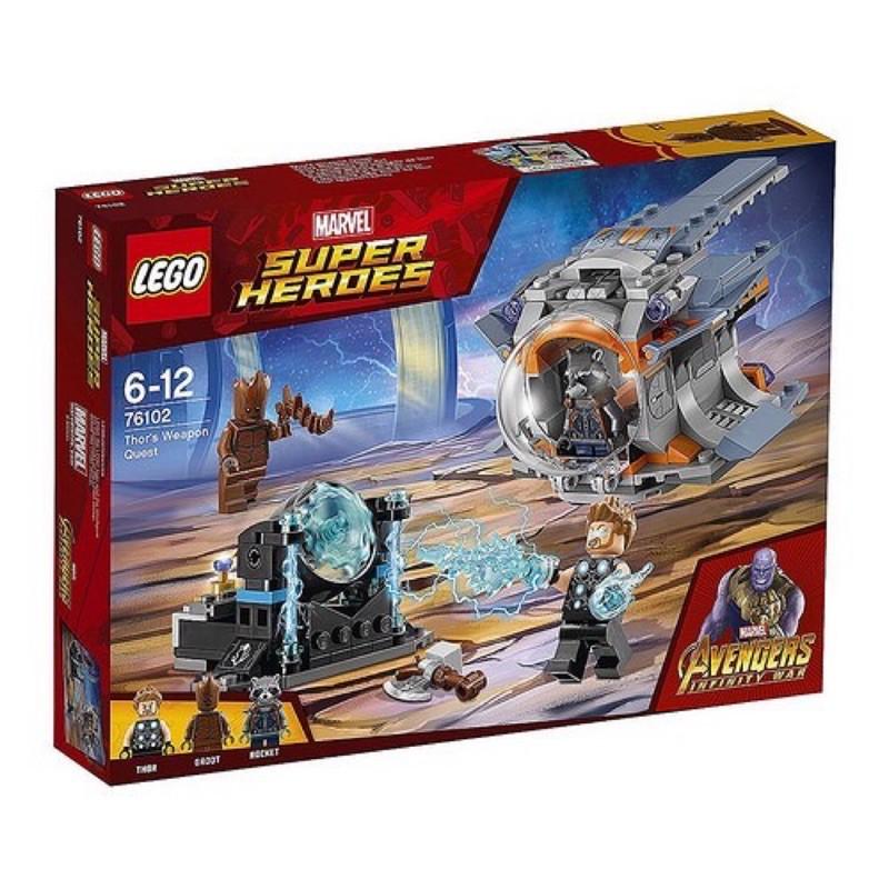 LEGO 樂高 76109 蟻人  樂高 lego 76102 索爾武器之旅