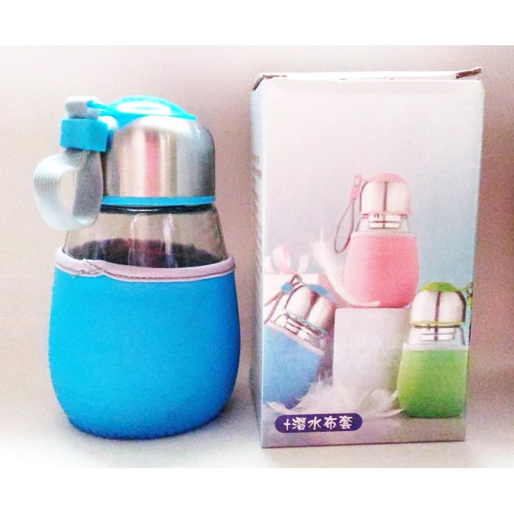 品茗玻璃瓶(廣積股東會紀念品)