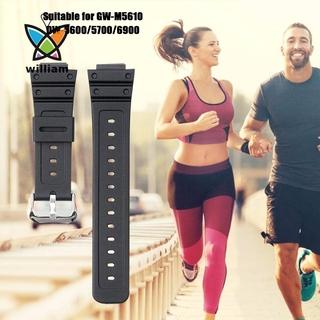 | 將 | 卡西歐 G-Shock Gwm5610 Dw5600 Dw5700 Dw6900 Dw6900 的矽橡皮筋