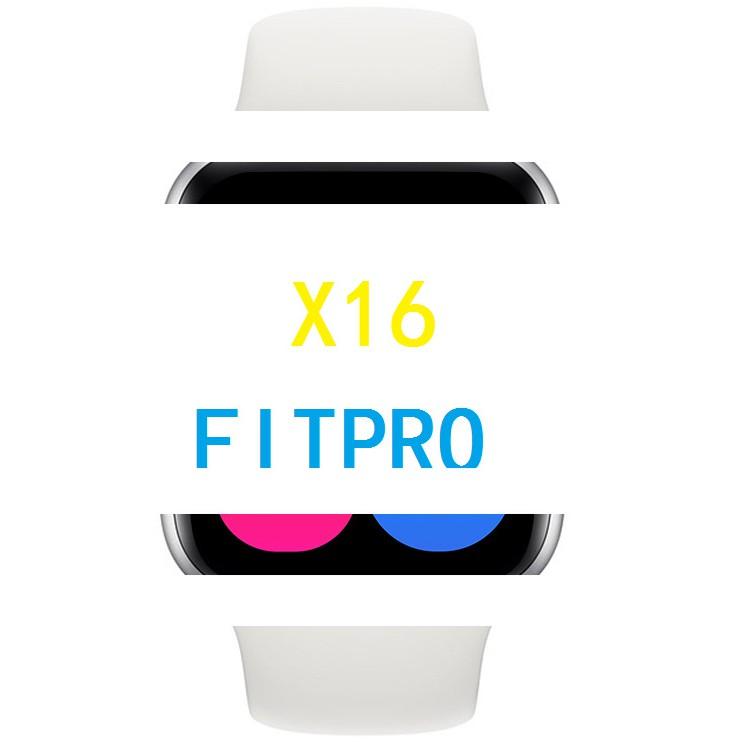 X16智能手環中文fitpro心率血壓血氧通話鬧鐘提醒運動 智能手錶