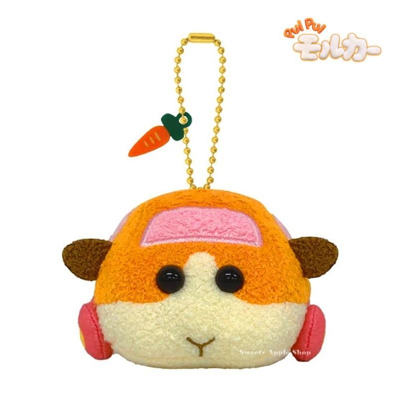 天竺鼠車車【 TW SAS 日本限定 】PUI PUI 天竺鼠車車 薯仔 珠鍊吊飾 玩偶娃娃 