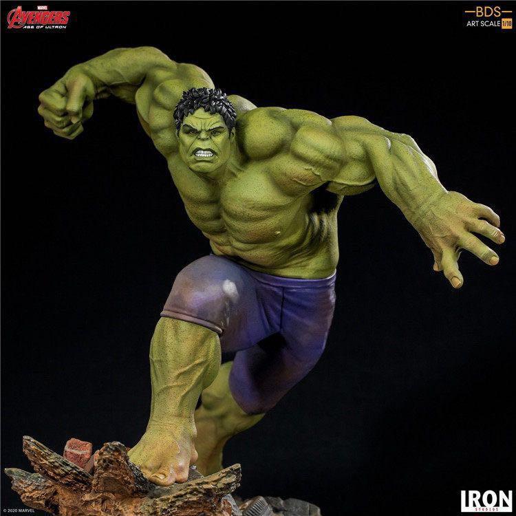 Iron Studios 巴西廠 綠巨人 浩克 1/10 復仇者聯盟2 Hulk 雕像