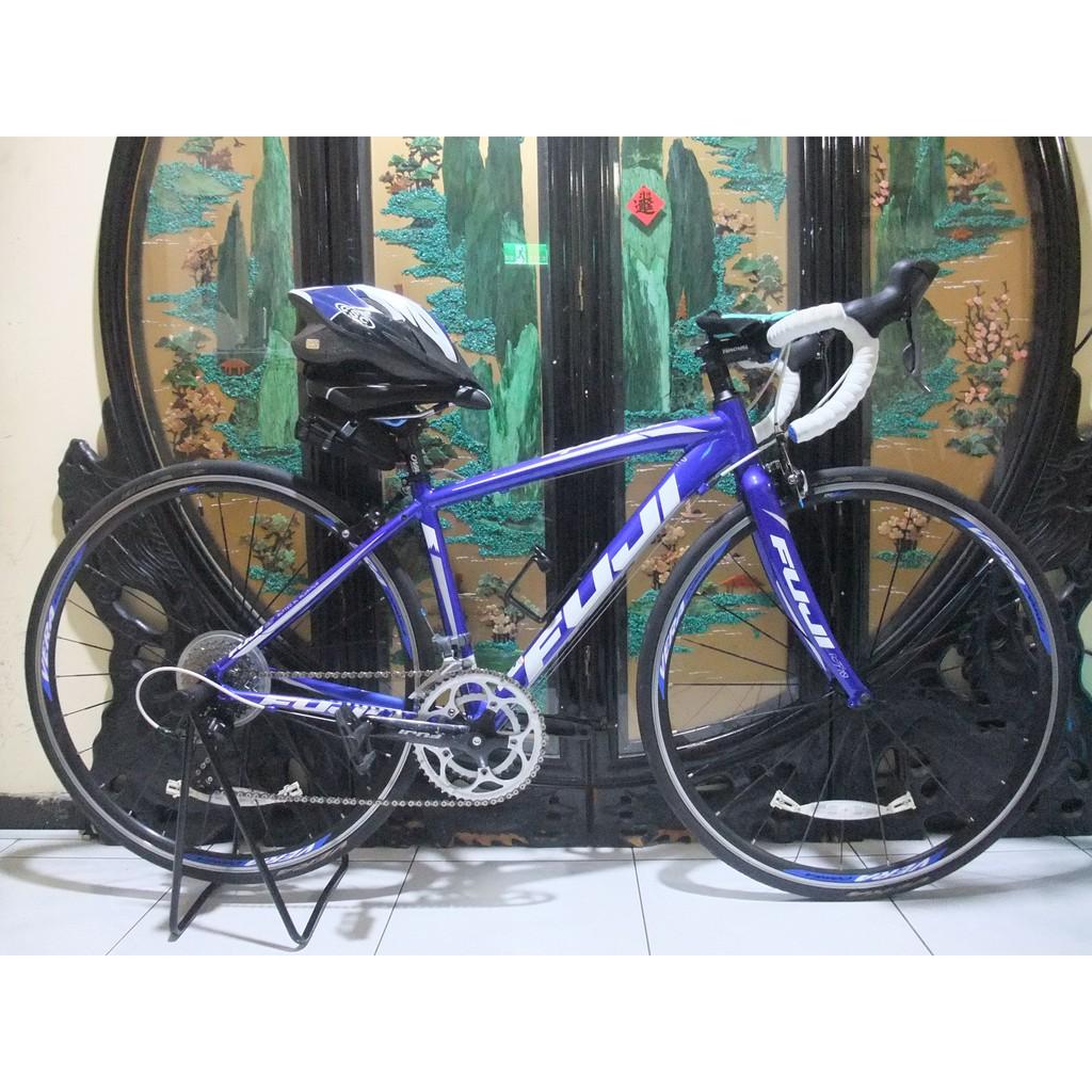 鋁合金700c富士fuji sportif 2.3 shimano 16段甩把變速公路車碳纖維前叉桃園自取size xs