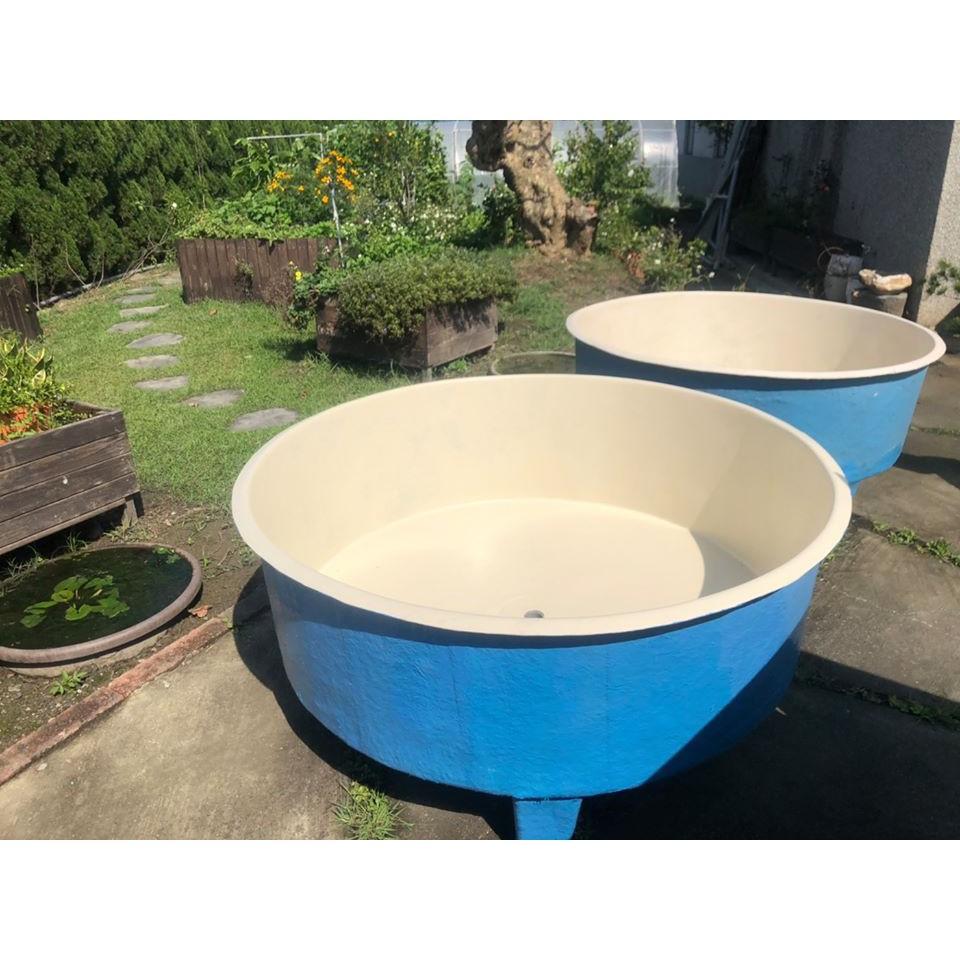 FC-750 FRP 強化塑鋼  養殖桶 槽 戶外 魚菜共生