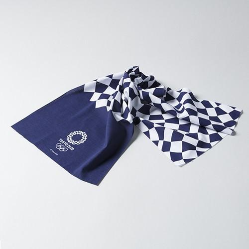 日本製 東京奧運手巾 靛藍色款 東奧 紀念品週邊官方商品 現貨商品 售完為止