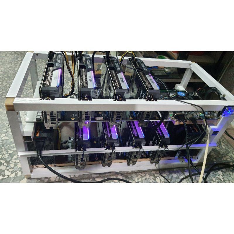 朋友託售,RTX3070 限時39萬。3060ti 6700xt 1660super 乙太eth顯卡礦機數台