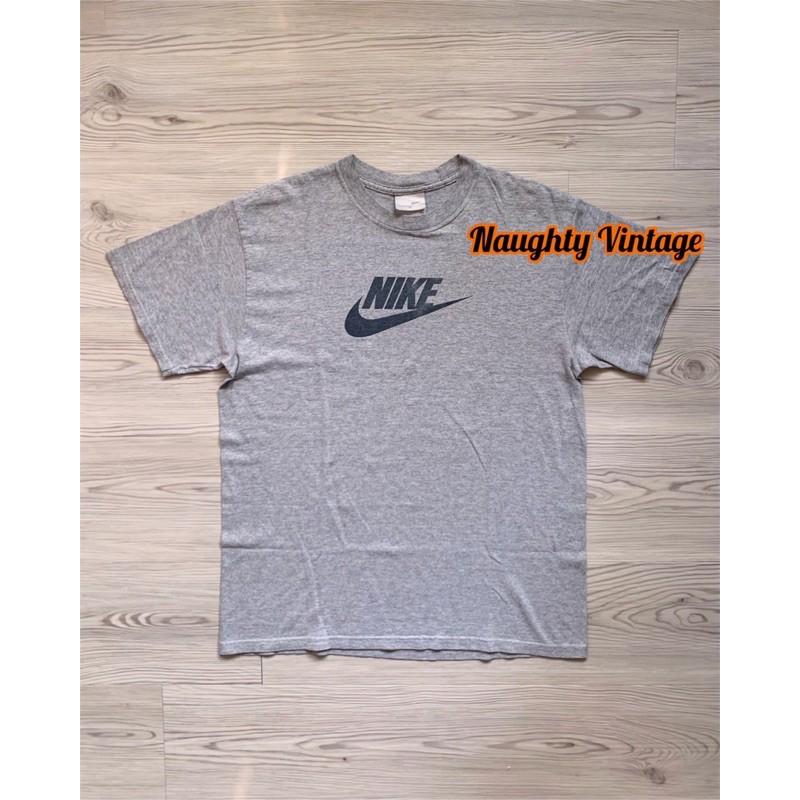 古著 Nike Vintage 2000年代早期 短t Spell Out Logo Tee T-shirt 2000s
