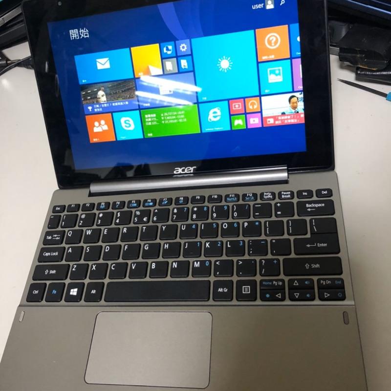 桌機王-Acer 10吋變形金剛筆電 9.8新未使用過 Cpu x5
