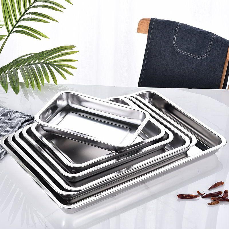 台灣製 方盤 蝴蝶牌 304不鏽鋼方盤 茶盤 滴水盤 長方盤 自助餐盤 鐵盤 料理盤 萬用盤