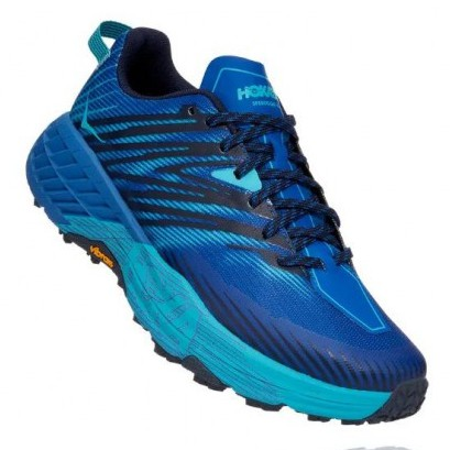 Hoka | Speedgoat 4 for Men (Turkish Sea/Scuba Blue) 越野跑鞋 運動鞋