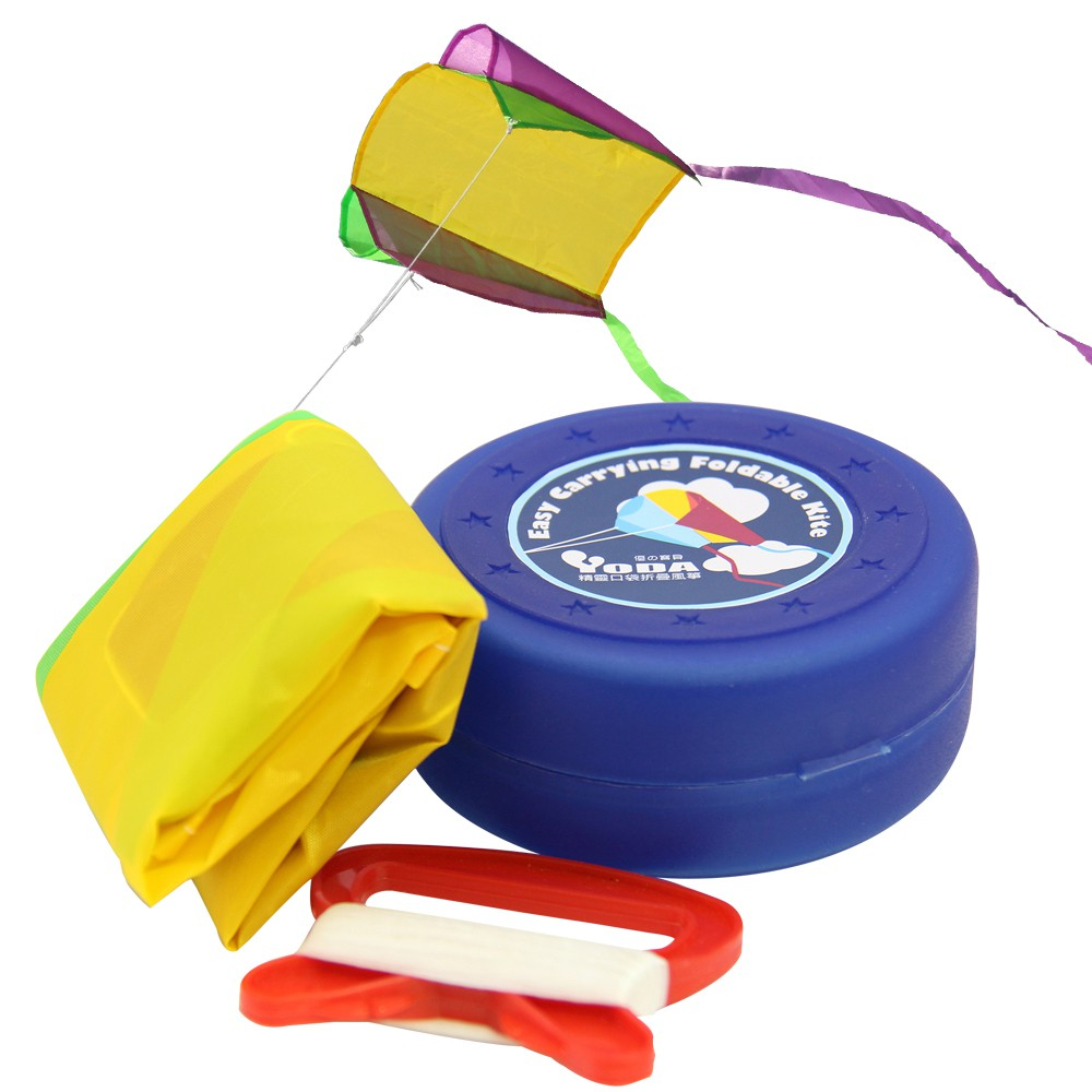 YoDa 精靈口袋摺疊風箏(兩款可選)