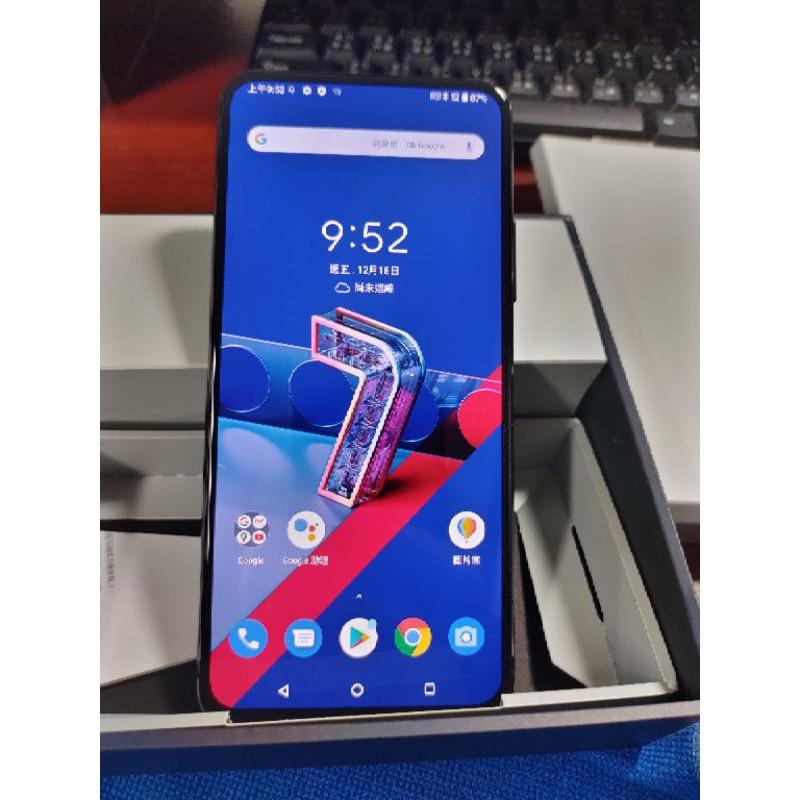 (二手)ASUS ZenFone 7 ZS670KS (8GB/128GB)華碩三鏡頭翻轉5G手機保固內