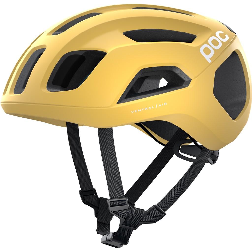 POC Ventral Air Spin 安全帽(消光黃) 自行車 / 直排輪 都適用 台灣公司貨