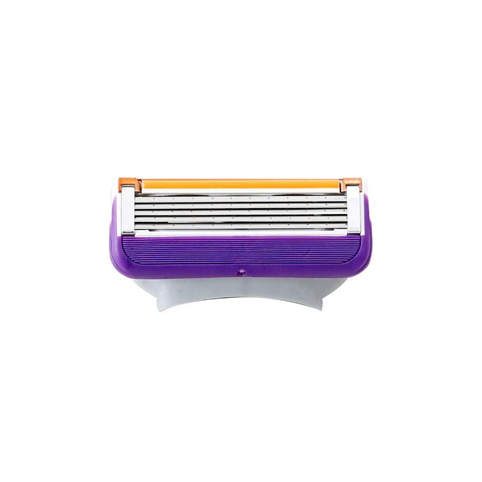 【FREED】五刀式 刮鬍刀片 盒裝 - 紫色