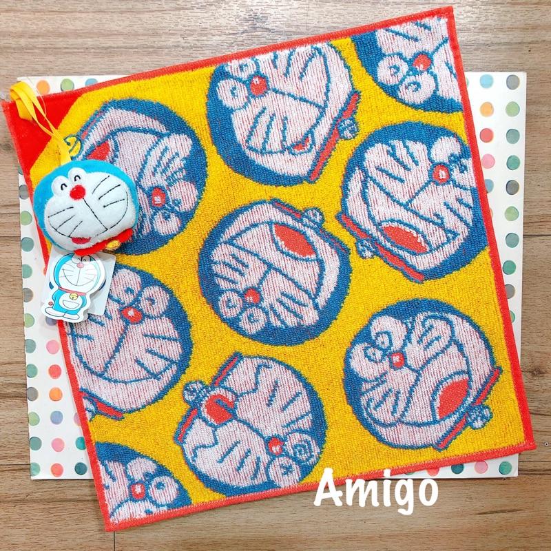 日本 小叮噹 哆啦a夢 多啦a夢 哆拉a夢 多拉a夢 50週年 吊飾 方巾 毛巾 手帕 小方巾 小毛巾 擦手巾 擦手布