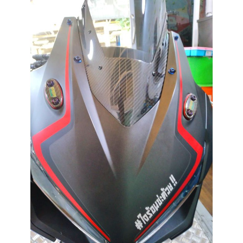 Moto橘皮 Cbr500r 加高風鏡 正碳纖維  卡夢風鏡 Cbr650R Cbr650F Ninja400 Zx6r