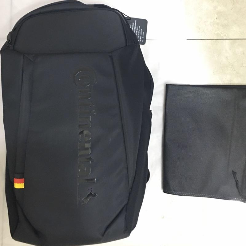 德國馬牌 限定設計款 Continental  多功能經典背包 硬殼 電腦包 後背包 黑色