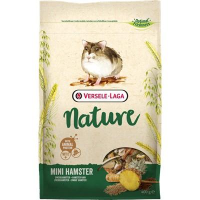 比利時 凡賽爾 VERSELE LAGA 全新NATURE特級迷你倉鼠飼料400g  寵物鼠飼料 倉鼠飼料