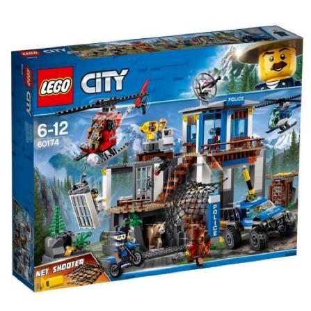 LEGO 60174 城鎮系列 山區警察總部