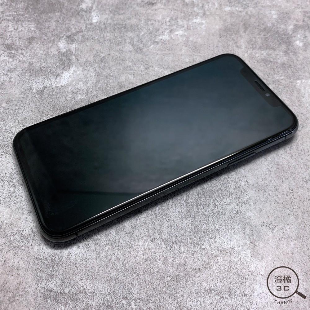 『澄橘』Apple iPhone X 64G 64GB (5.8吋) 黑 二手 無盒裝《歡迎折抵 手機租借》A52627