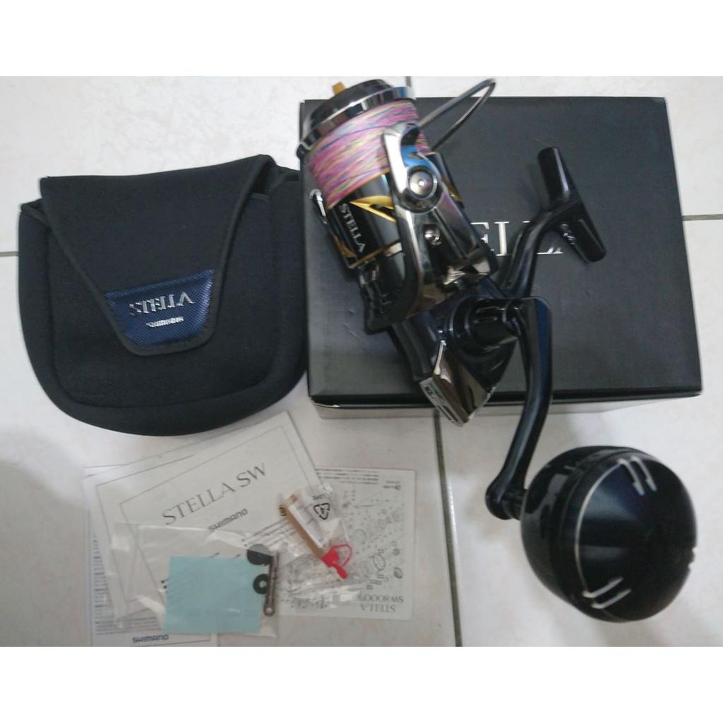 中古美品 SHIMANO 19 STELLA SW 8000PG 紡車捲線器
