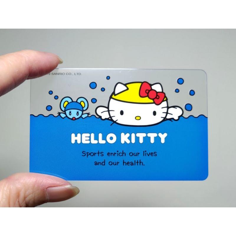 kitty  悠遊卡運動系列 游泳 三麗鷗HELLO KITTY x NYA聯名悠遊卡 新朋友 35週年紀念