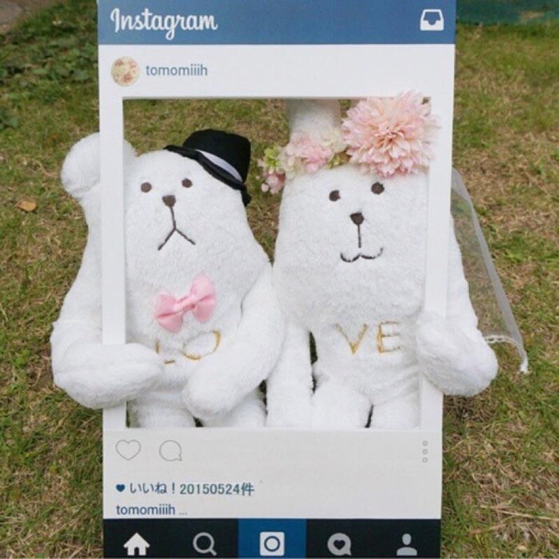 [連線代購]CRAFTHOLIC 宇宙人 Wedding Craft 婚禮系列 SLOTH & RAB