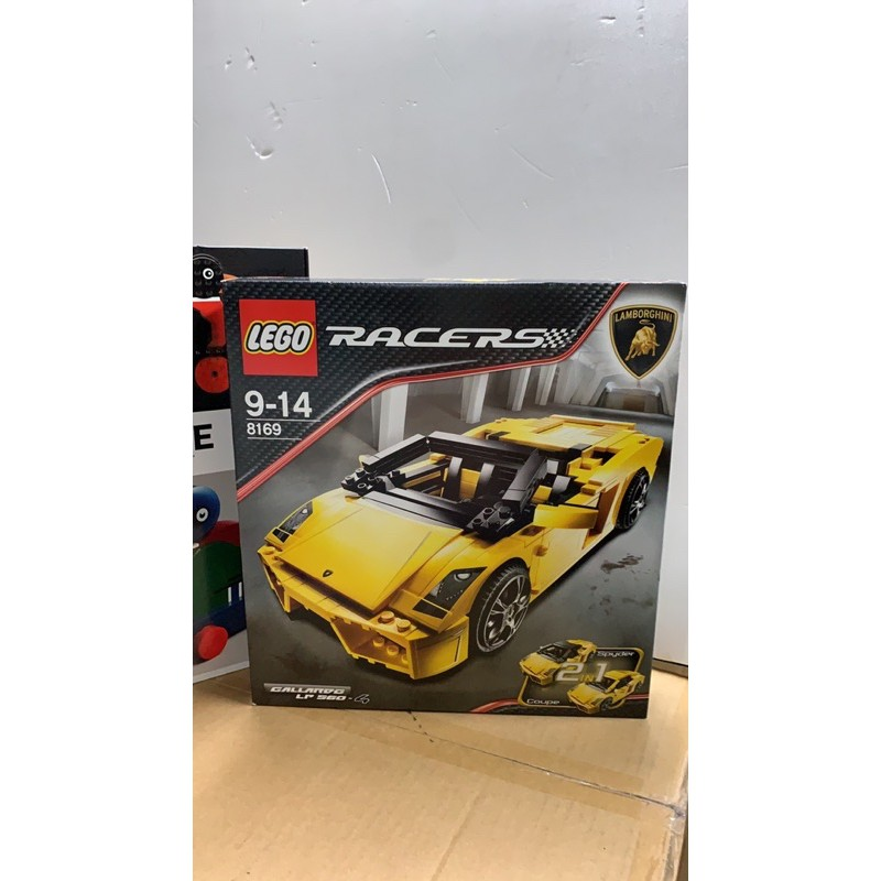 lego 8169 藍寶基尼賽車