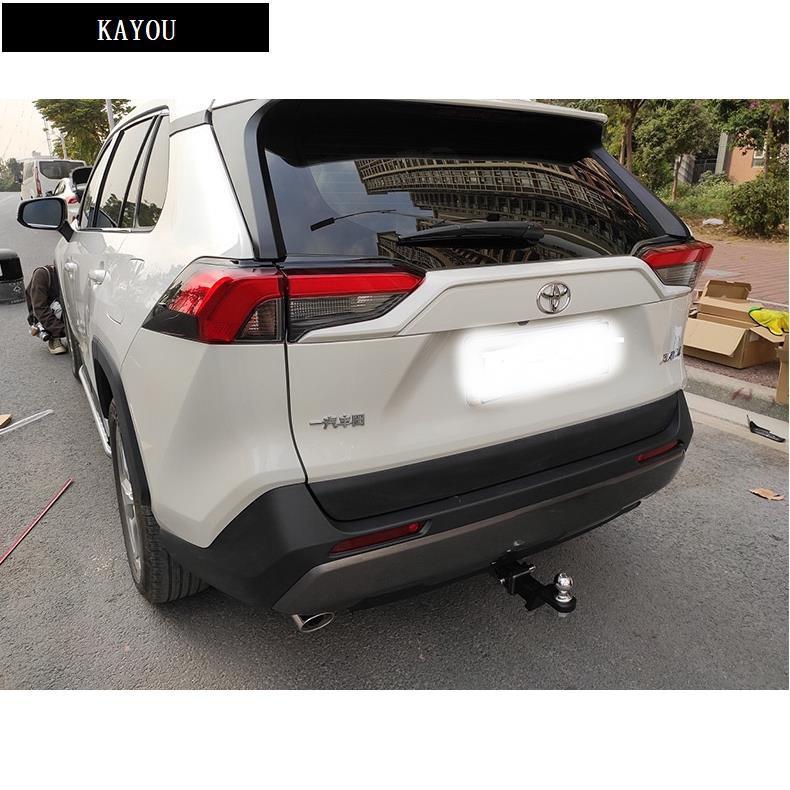 豐田20款RAV4改裝拖車鉤 拖車槓 牽引流氓勾 託車架 後拖鉤 2英吋方口(拖車臂球不含在內)/KAYOU