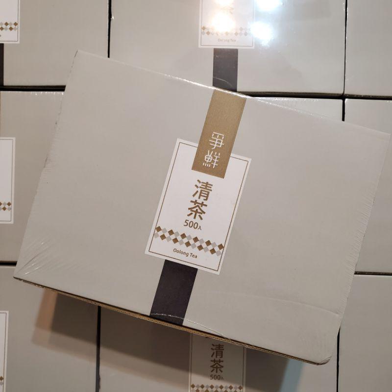 【現貨免運】爭鮮清茶 500包/箱 爭鮮 茶包 清茶 好喝 壽司 爭鮮壽司 免運