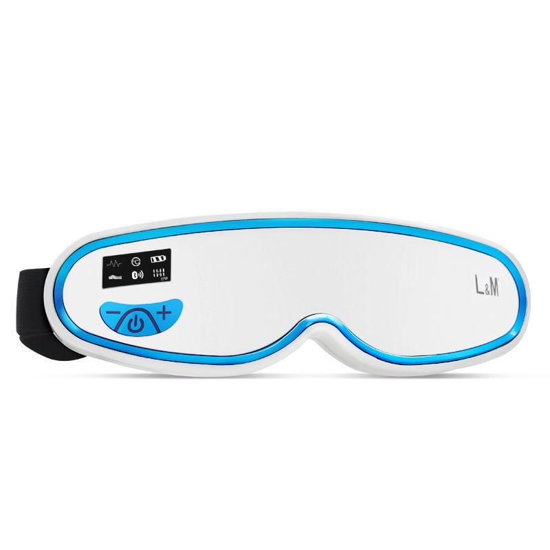 【現貨】按摩儀德國LM眼部按摩儀器保護眼睛神器散光近視視力訓練儀熱敷緩解疲勞