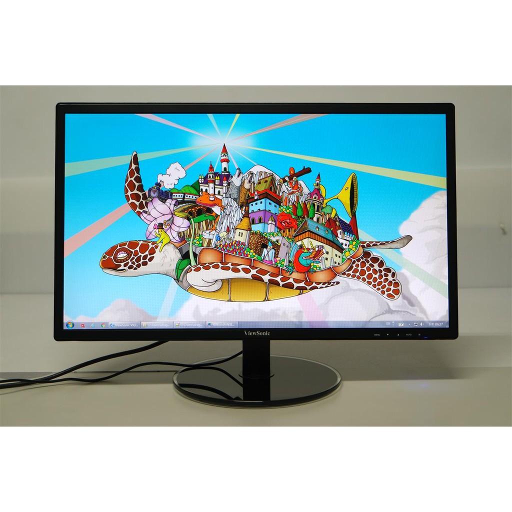 優派 ViewSonic VX2209 22吋 D-Sub/DVI FullHD LED液晶螢幕■二手良品、外觀及畫質佳