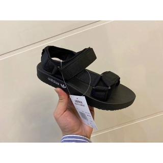 Adidas 愛迪達 Adilette涼鞋 夏季 男鞋 運動拖鞋 室外拖鞋 平底綁帶涼鞋 時尚潮流防滑防水沙灘鞋