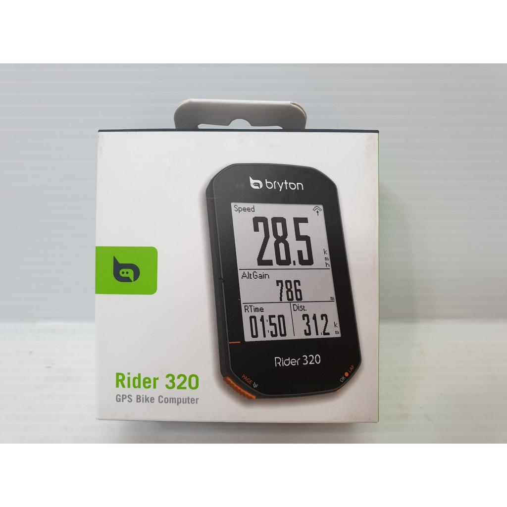 bryton 320 Bryton Rider 320 GPS 碼錶 自行車記錄 碼表 BRYTON 320 T C E