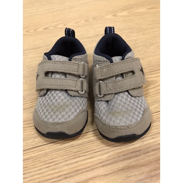 [二手]moonstar 學步鞋 12.5cm 藍灰色 無盒