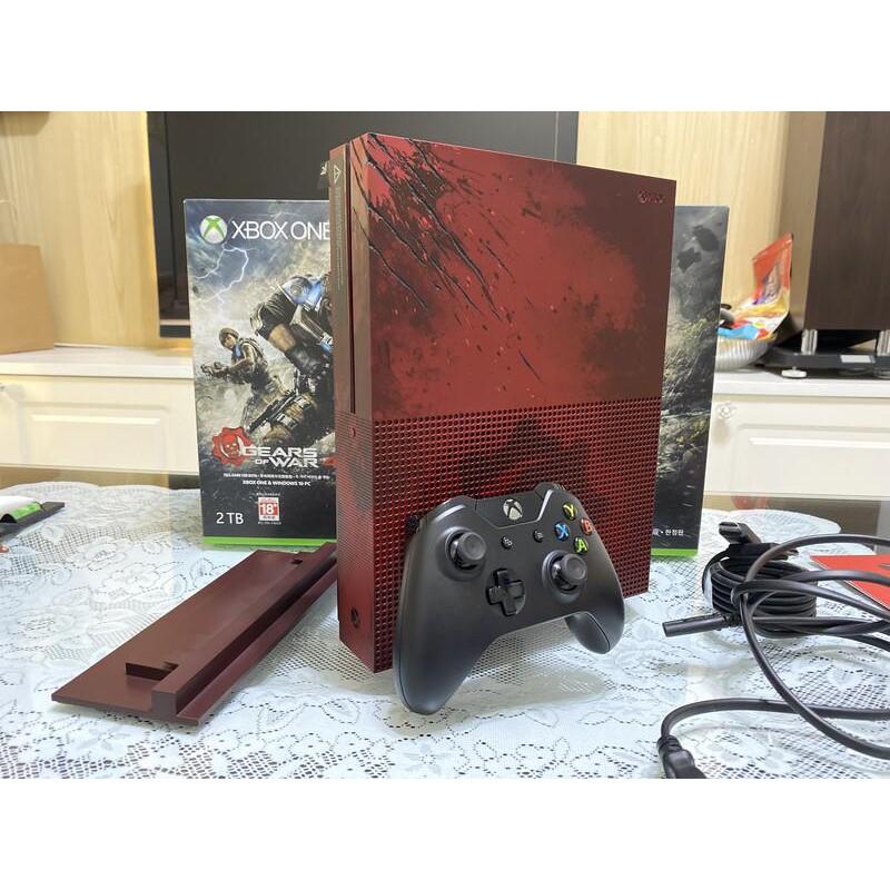 Xbox One S 戰爭機器 4 同捆主機 2TB 【二手】