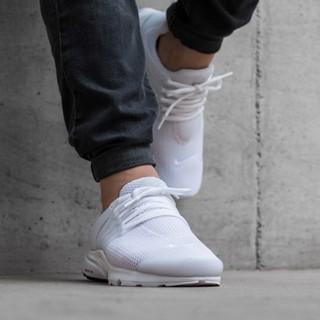 【尬鞋】NIKE AIR PRESTO 全白 白色 網布 透氣 魚骨 慢跑鞋 休閒好搭 男鞋 848132-100 基隆市