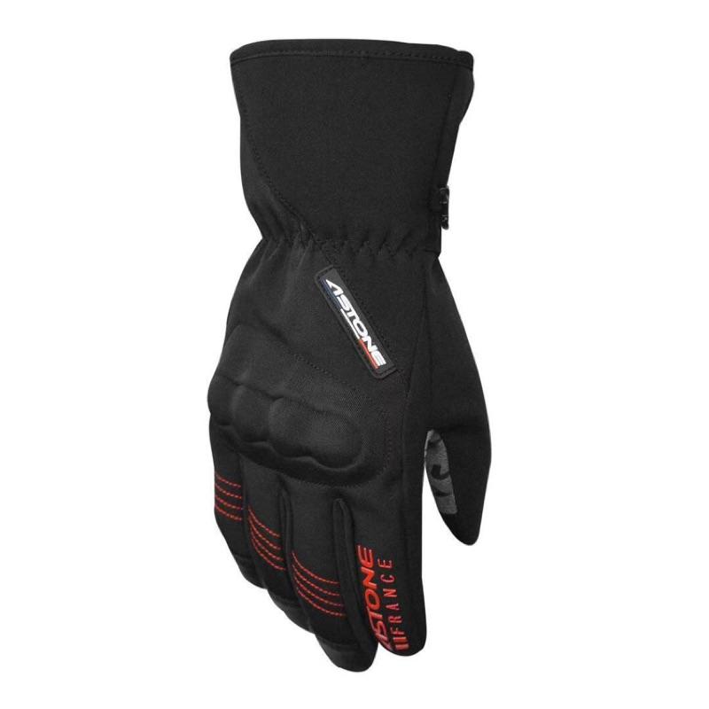 ASTONE GA50 冬季防水防風手套  可觸控手機 黑/紅