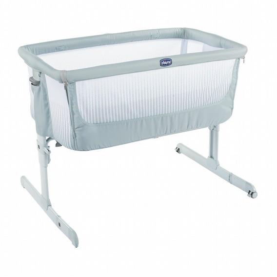 Chicco Next 2 Me多功能親密安撫嬰兒床邊床Air版-加勒比藍 4990元